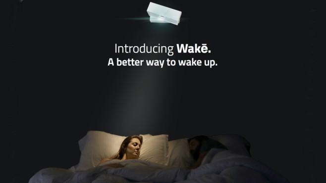 Wakē 闹钟:叫醒你的同时,保证另一半睡的香!