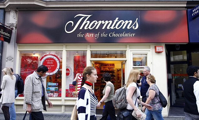 Thorntons results