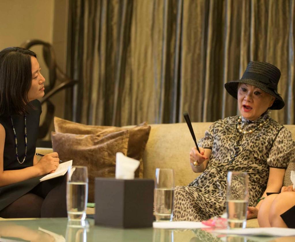 LANVIN品牌全球总裁王效兰女士接受华丽志创始人余燕女士采访r