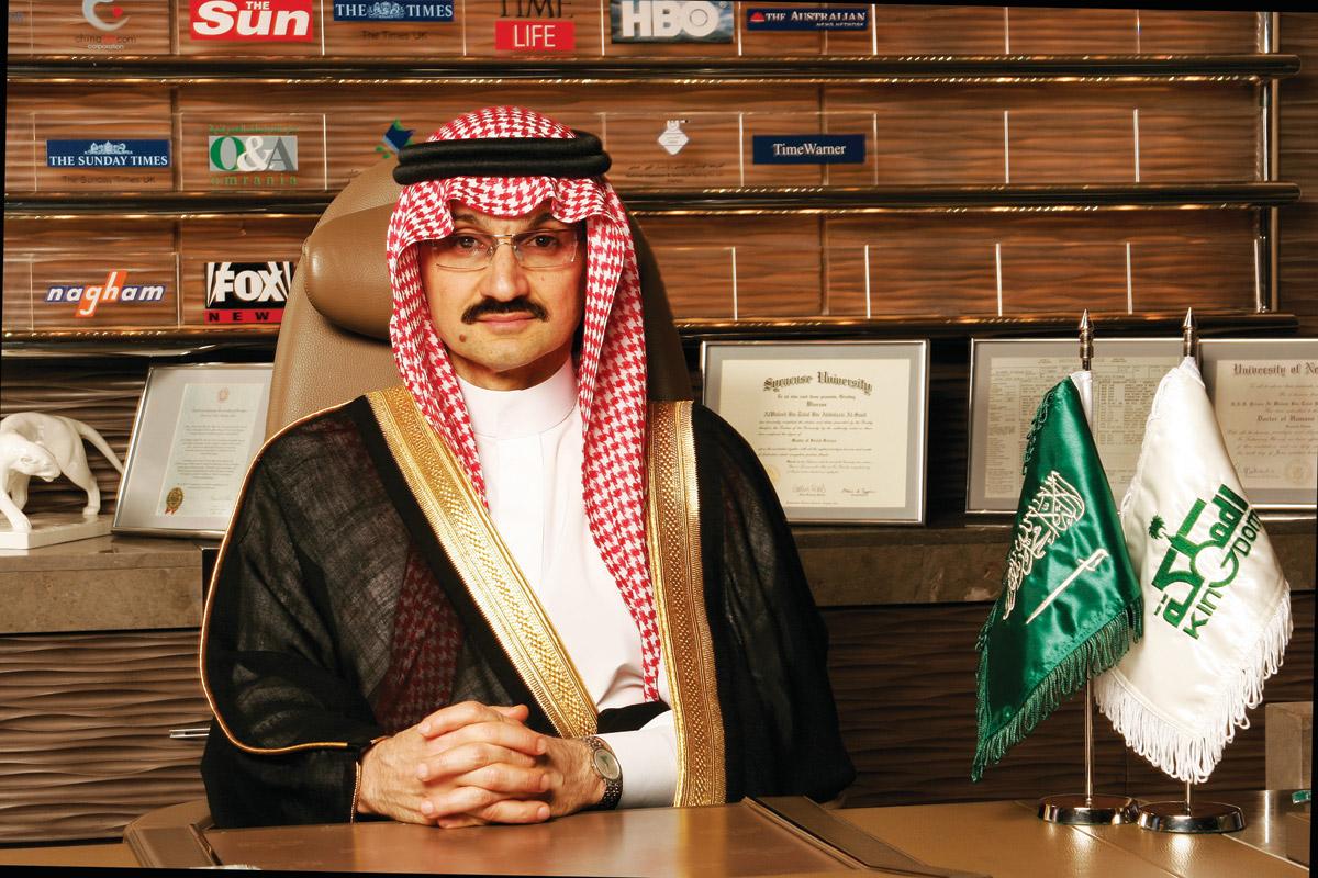 和《福布斯》打官司!沙特亲王 Alwaleed 炫目的人生履历