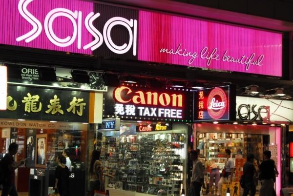 赴港游客减少,莎莎国际上半年净利润暴跌 55%