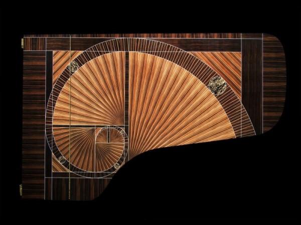 第60万架施坦威钢琴闪耀登场,出自家具设计大师之手
