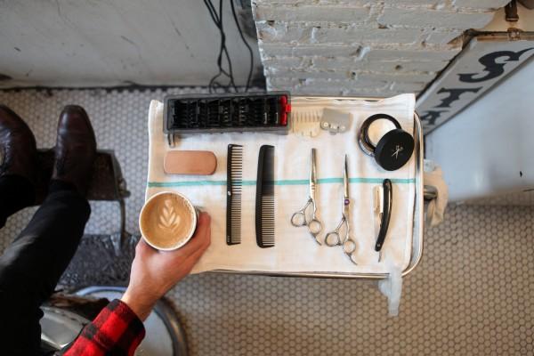 理发室+咖啡店:cafe-barbeshop 让男士也能好好放松一下