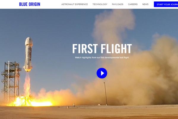 亚马逊的贝佐斯想要带你飞离地球:私营太空公司 Blue Origin 取得重大进展