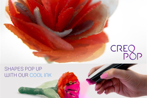 推出世界上首只冷墨 3D打印笔的 CreoPop 获得新一轮融资