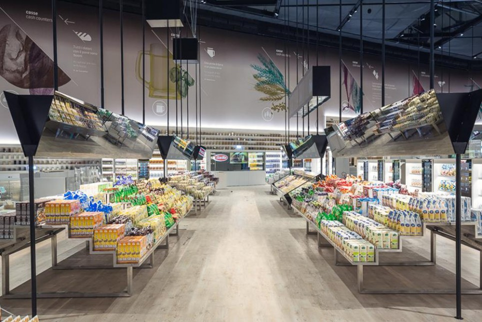2015米兰世博会:未来食品专区,颠覆传统超市体验!