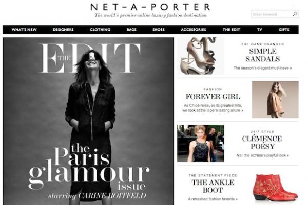 Net-a-Porter 扭亏为盈,全年销售额创历史新高