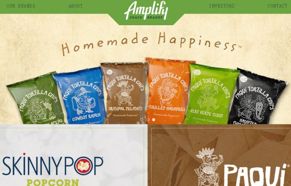 健康休闲食品公司 Amplify 筹备 IPO,投资方收益可观