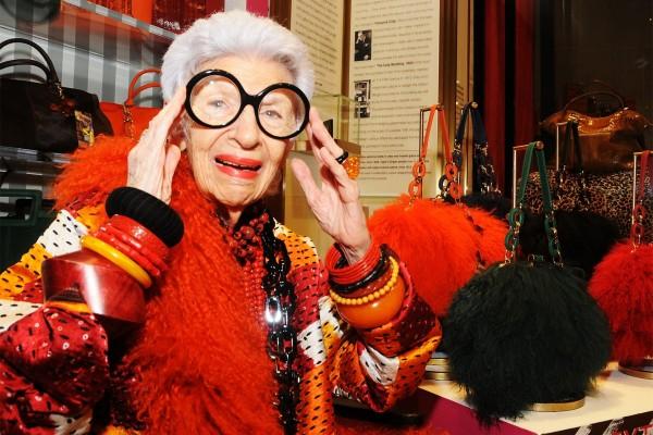 全球最高龄的时尚偶像:94岁 Iris Apfel 的六大人生信条