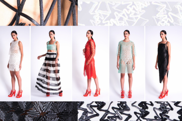 这个以色列学生用2000个小时在家 3D打印了一整套服装系列