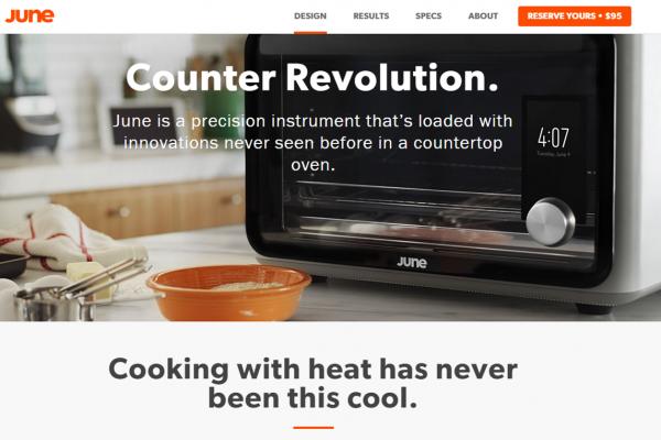 """十位苹果前任工程师打造的智能烤箱:可以像一位大厨一样""""思考"""""""
