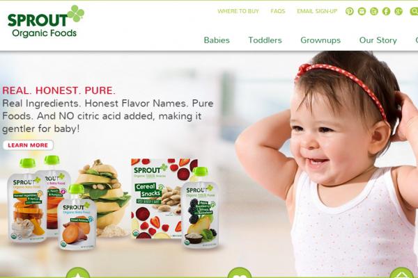 私募基金 North Castle 收购婴幼儿有机食品品牌  Sprout