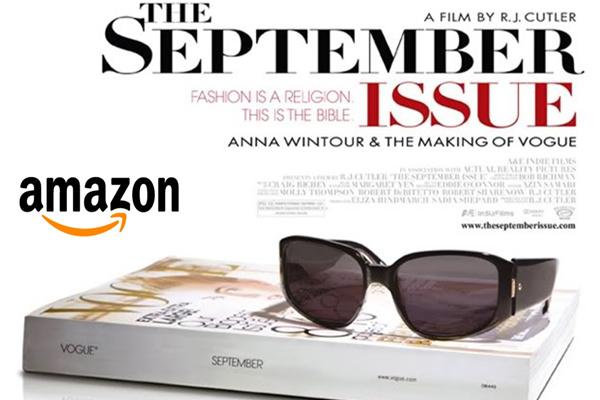 """牵手亚马逊开""""虚拟报摊"""",美国《Vogue》九月刊面向全球发售"""