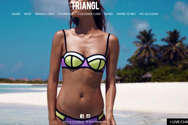 借款2万美元创业,Triangl 两年长成全球最大互联网泳装品牌