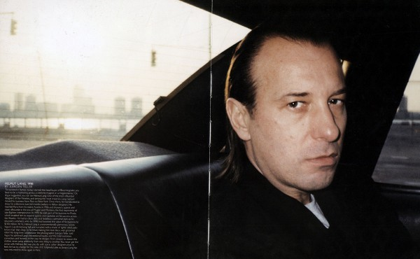 淡出时尚界十年,Helmut Lang 仍是这个行业最具影响力的设计师之一