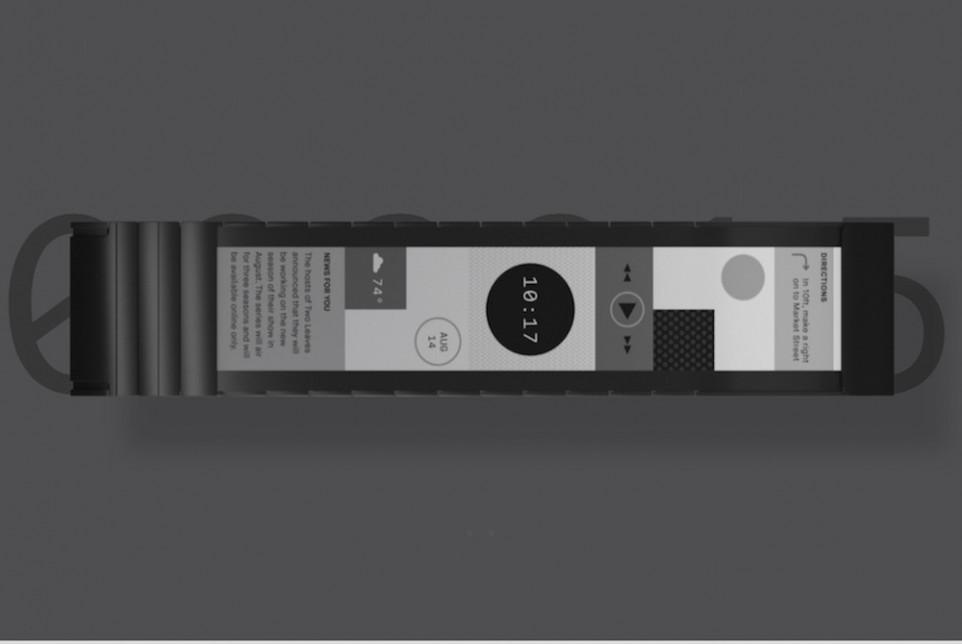 中国资本支持的 Polyera 发布全球首款可以弯曲的智能手表