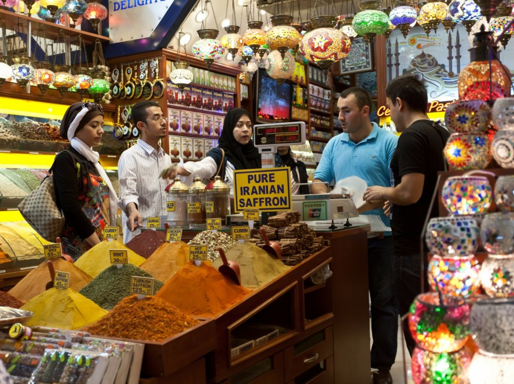 a-brightly-colored-landscape-of-spice-mountains-beckons-in-istanbul-the-ottoman-era-spice-bazaar-on-istanbuls-european-side-primarily-sells-spices-but-also-dried-herbs-and-