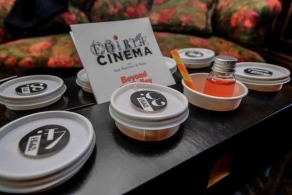 """""""可以吃的电影"""":Edible Cinema 让美食和电影巧妙结合,颠覆观影体验"""