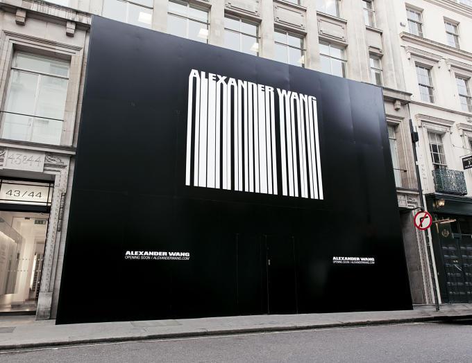 确认和 Balenciaga分手翌日,Alexander Wang 自有品牌全球最大旗舰店揭幕