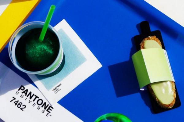 制定全球配色标准的 Pantone 公司开了一家咖啡馆:真的是秀色可餐!