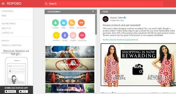 老虎基金两度投资印度时尚搜索平台 Roposo