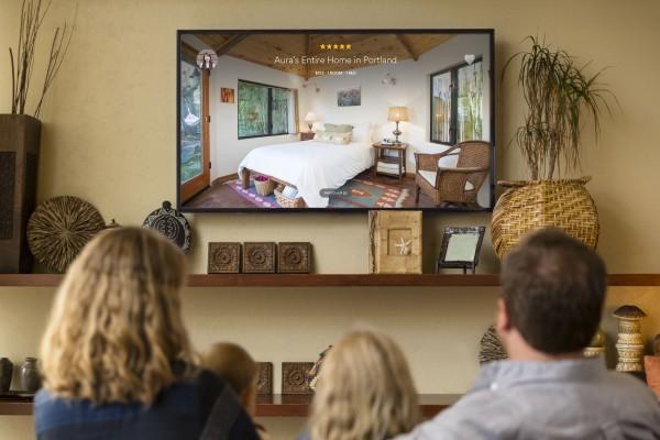 Airbnb 推全新 Apple TV 应用,订房间如看大片