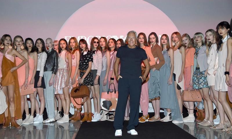 EmporioArmani40thanniversarycatwalkshowMilano-Fashion-Week-SS-2016