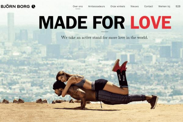 瑞典运动服饰品牌 Björn Borg 推出 Tinder 模式的健身交友 App