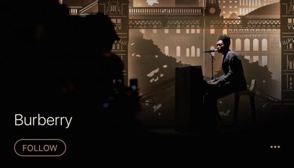 Burberry  频道入驻苹果音乐商城,主推英国乐坛新秀