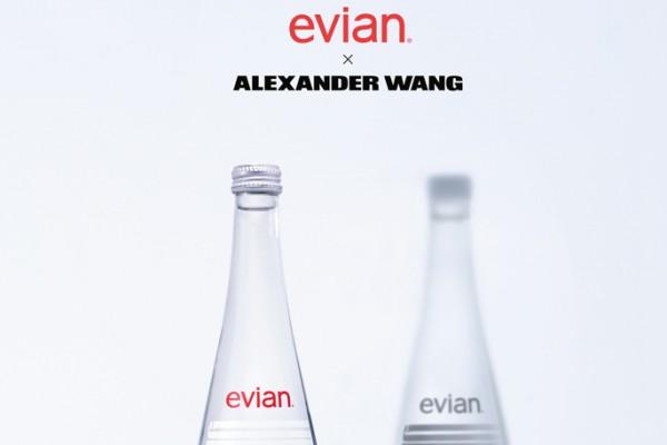 依云矿泉水携手 Alexander Wang,历数依云合作过的九大设计师品牌