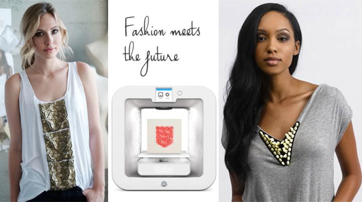 3D打印的时装不是出来吓人的!最新3D配饰打印技术让3D时尚更亲民
