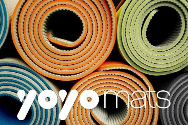 全球首款可以自动卷好的瑜伽垫 YoYo Mat