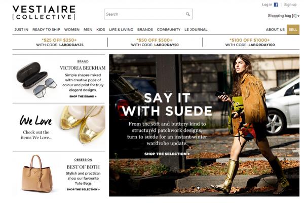 二手奢侈品网站  Vestiaire 再融资 3300万欧元,着眼全球扩张