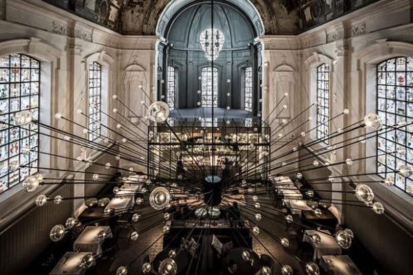 全球最美餐厅称号花落比利时安特卫普 The Jane