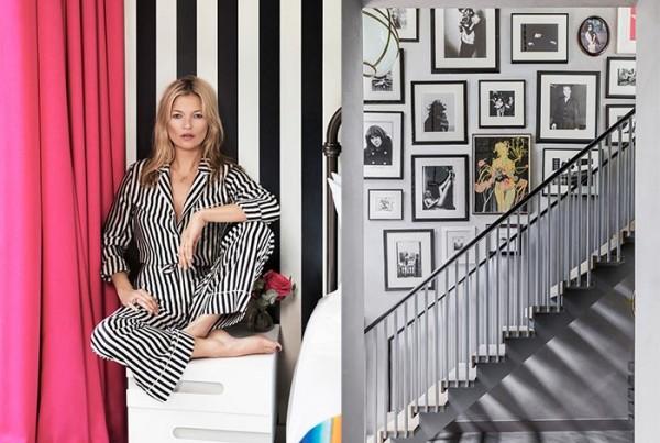 Kate Moss 变身室内设计师,处女作为英国乡间豪宅 The Barnhouse