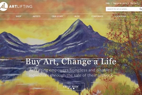 帮流落街头的潦倒艺术家卖画,艺术品公益电商 ArtLifting 获 110万美元种子轮融资