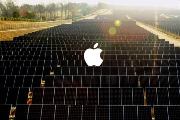 """""""染绿""""中国供应链,苹果宣布在华建造超级太阳能项目"""