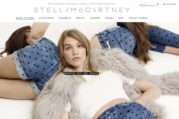 Stella McCartney 英国公司2014年销售利润均呈现两位数增长