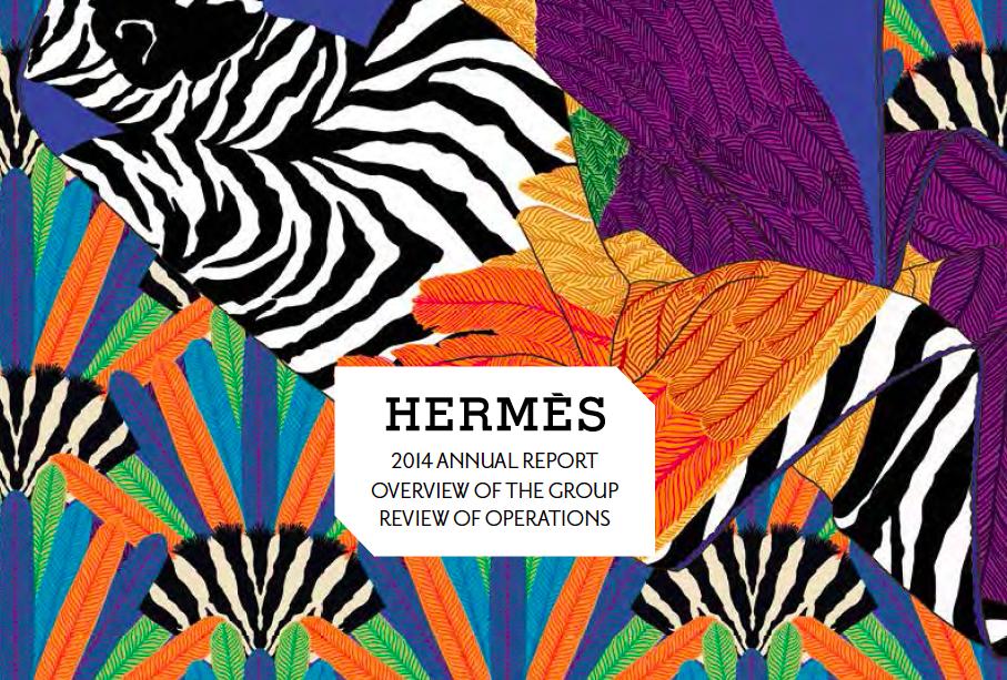 《华丽志》特稿:Hermès 集团2014财报全方位解读
