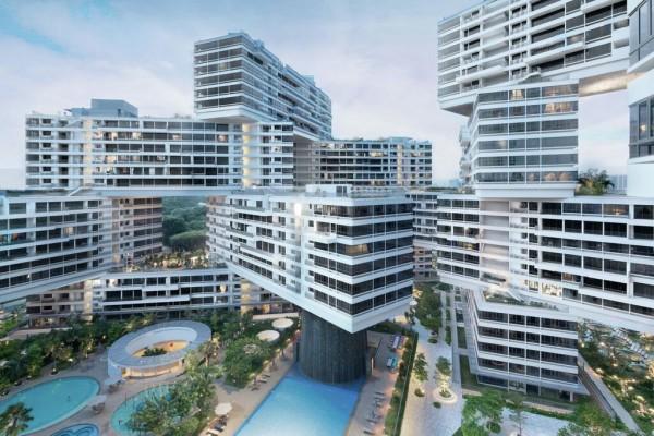 新加坡交错建筑 The Interlace 获 2015年度世界建筑奖