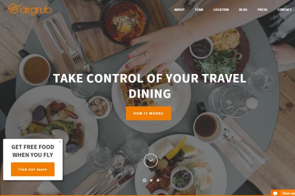 赶飞机也能吃上像样的饭菜!机场订餐app AirGrub 融资150万美元
