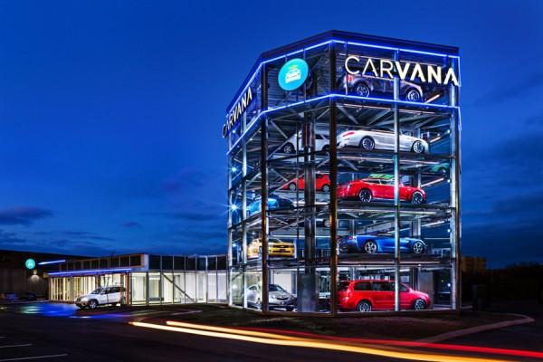 Carvana 推出全自动汽车售货机,只需投币即可买车