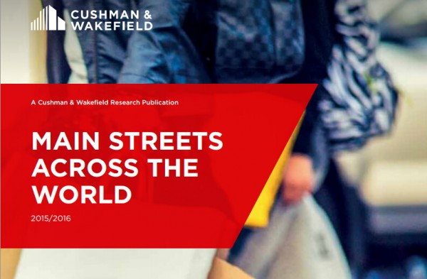 高纬环球最新全球主要商业街租金报告:平均上涨 35%