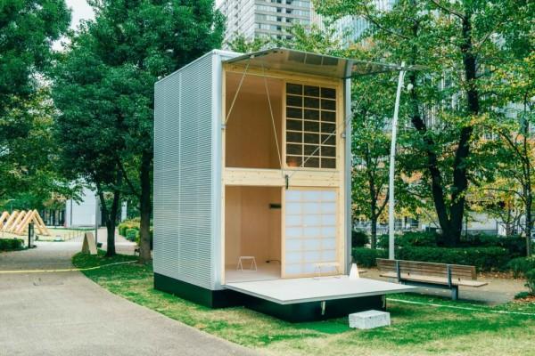 无印良品推出极简主义的微型房屋,让居住和搬迁成为一件很 MUJI 的事
