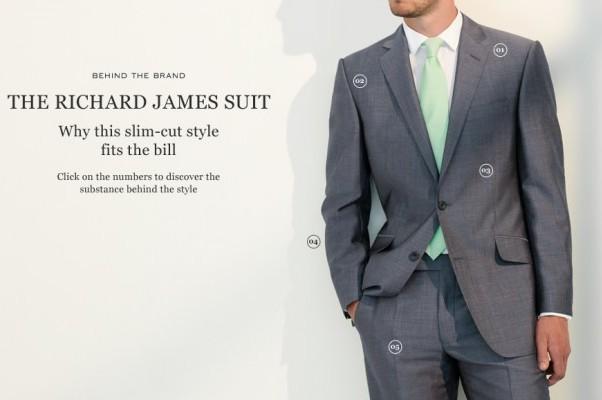 伦敦男装定制品牌 Richard James 寻求融资