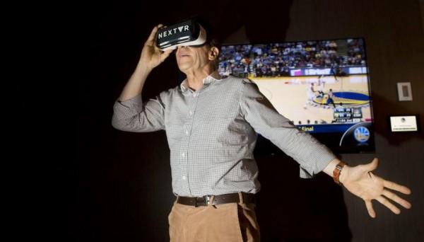 用虚拟现实设备在家看球赛,NextVR融资3050万美元 ,时代华纳参投