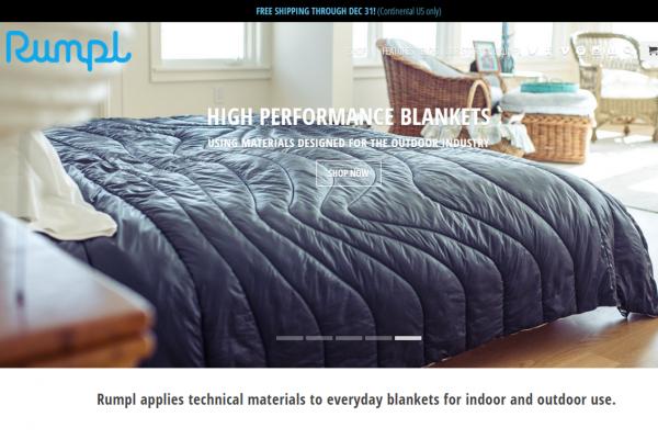 """家用盖毯也被""""颠覆""""了!Rumpl 让家居用品达到运动和户外装备的水准"""