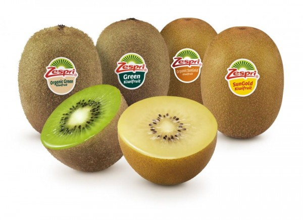 Zespri Kiwifruit Group Shot
