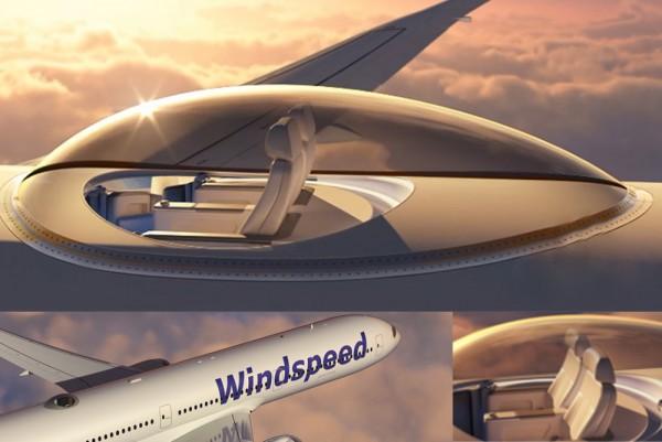建在飞机顶上的观景台 SkyDeck,30000英尺高空观景无死角