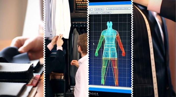 香港裁缝业的新灵感: 3D人体扫描量体裁衣
